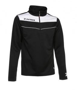 Trainingssweater POWER 130  v.PATRICK schwarz /weiß (Größe: 2XS)