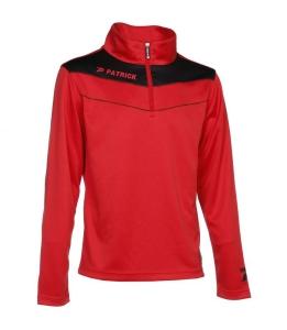 Trainingssweater POWER 130  v.PATRICK  rot /schwarz (Größe: 2XS)