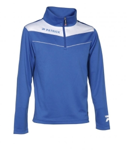 Trainingssweater POWER 130  v.PATRICK royal /weiß (Größe: 2XS)