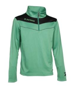 Trainingssweater POWER 130  v.PATRICK  grün /schwarz (Größe: 2XS)
