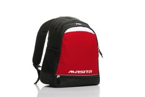 Rucksack  Striker  rot / schwarz  v.  Masita (Farbe: rot /schwarz)