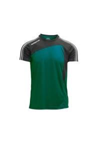Kurzarm-Trikot- FORZA v. MASITA , grün / schwarz (Forza  grün / schwarz: 164)