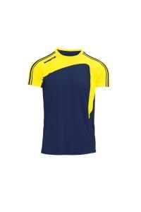 Kurzarm-Trikot- FORZA v. MASITA , marineblau/gelb (Forza marineblau/gelb: 164)