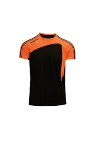 Kurzarm-Trikot- FORZA v. MASITA , schwarz /orange (Forza  schwarz/ orange: 164)