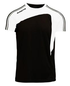Kurzarm-Trikot- FORZA v. MASITA , schwarz / weiß (Forza  schwarz/ weiß: 164)