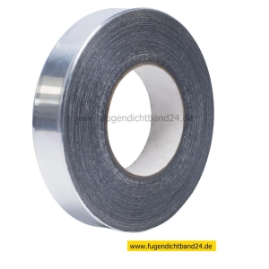 Aluminiumklebeband aus 99% Alu - 25m Rolle - 30mm Breite - 0,1mm stark