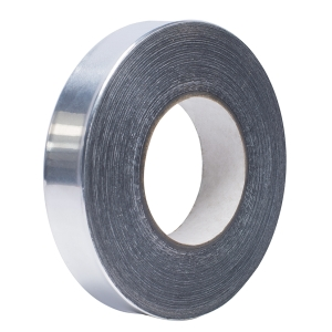 Aluminiumklebeband aus 99% Alu - 50m Rolle - 60mm Breite - 0,05mm stark