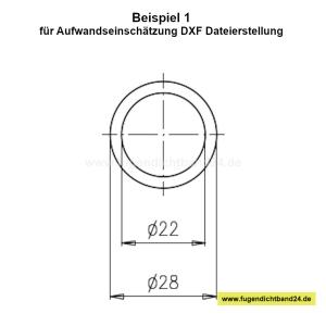 DXF Dateierstellung aus PDF (Kosten entsprechend Beispiel: PDF Erstellung entsprechend Beispiel 1)