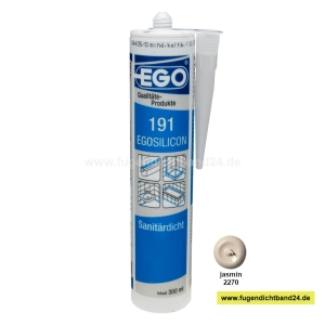 EGOSILICON 191 Sanitärsilikon - jasmin - 300ml Kartusche