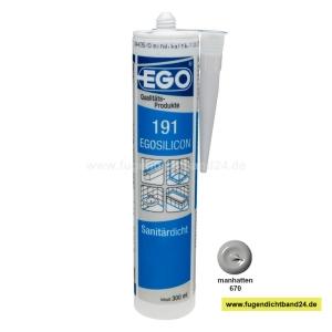 EGOSILICON 191 Sanitärsilikon - manhatten - 300ml Kartusche