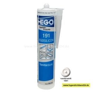 EGOSILICON 191 Sanitärsilikon - sanitärweiß - 300ml Kartusche