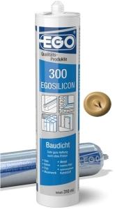EGOSILICON 300 baudicht 310ml Kartusche Curry dunkel