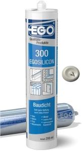 EGOSILICON 300 baudicht 310ml Kartusche fugengrau