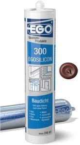 EGOSILICON 300 baudicht 310ml Kartusche purpurrot