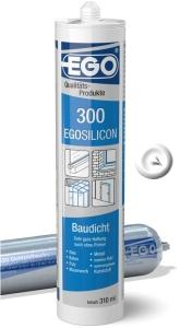 EGOSILICON 300 baudicht 310ml Kartusche weiss