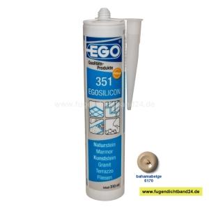 EGOSILICON 351 Natursteinsilikon - bahamabeige 6170 - 310ml Kartusche