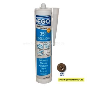 EGOSILICON 351 Natursteinsilikon - braun 6070 - 310ml Kartusche
