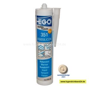 EGOSILICON 351 Natursteinsilikon - sandsteinbeige 2501 - 310ml Kartusche