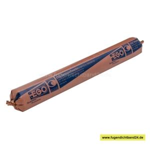 EGO Leinöl Fensterkitt - SB 25 braun - 50mm Schlauchbeutel 1000g