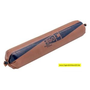 EGO Glaserkitt SB 25 braun 70mm Schlauchbeutel 2000g
