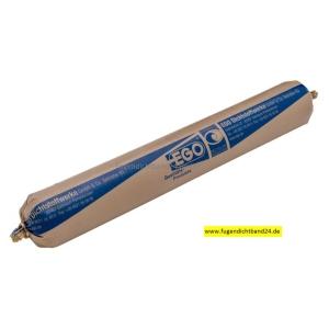 EGO Glaserkitt SB 25 grau 50mm Schlauchbeutel 1000g