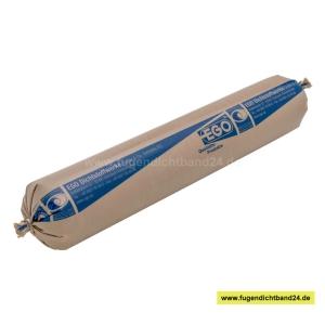 EGO Glaserkitt SB 25 grau 70mm Schlauchbeutel 2000g