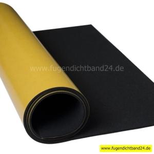 EPDM Zellkautschuk Matten 3mm Stärke einseitig selbstklebend - diverse Abmessungen (Abmessung: 200mm x 300mm)
