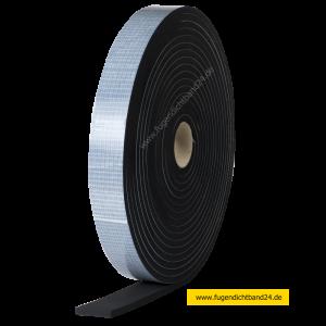 EPDM Zellkautschuk einseitig selbstklebend 5m Rolle - 8mm x diverse Breiten (Breite bitte wählen: 20mm)