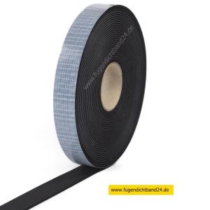 EPDM Zellkautschuk einseitig selbstklebend 10m Rolle - 1mm x diverse Breiten (Breite : 10mm)