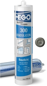 EGOSILICON 300 baudicht 310ml Kartusche betongrau
