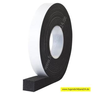 HSF Fugendichtband 600 2-6mm 12m Rolle grau oder schwarz diverse Breiten (Breite und Farbe bitte wählen: 12mm schwarz)