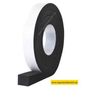HSF Fugendichtband 600 11-25mm 2,6m Rolle grau oder schwarz, diverse Breiten (Breite und Farbe bitte wählen: 25mm schwarz)