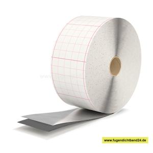 Alu-Butyl Dichtungsband - EGOTAPE 2000 - selbstklebend 1,5 mm x 100 mm x 25m - grau