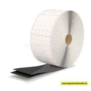 Butyl Dichtungsband schwarz - EGOTAPE 4000 - selbstklebend  1 mm x 200 mm x 30m