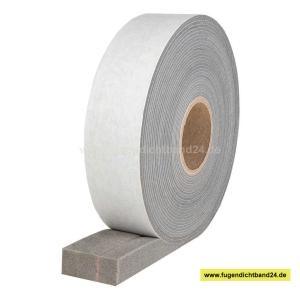 HSF Quellband / Kompriband mit Membrane -  schlagregendicht von 2,5-9 mm - 56 mm Breite - 18,8m Rolle - 600 Pa