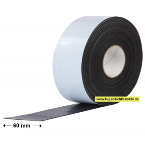 HSF SeBaFol a - 0,6mm x 60mm x 20m - Selbstklebende-Bauwerksabdichtungs-Folie außen