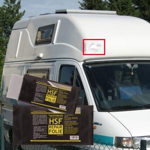 HSF - Repair-Set GFK - für Wohnmobil und Wohnwagen - 150 x 75 mm