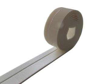 ISOFIT 5000 Wannenanschlussprofil WAP 3350 – 50mm Breite x 4mm Stärke 3,3m Rolle einseitig selbstklebend