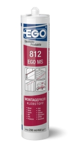 EGO MS 812 Montagekleber schwarz 290ml Kartusche