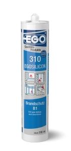 EGOSILICON 310 Brandschutz B1 weiss 310mm Kartusche