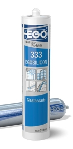 EGOSILICON 333 Glasfassade transparent 310ml Kartusche