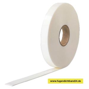 Doppelseitiges Klebeband 1mm Stärke 10m Rolle verschiedene Breiten weiss (Breite : 10mm)
