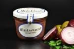 Feinkost-Blutwurst im Glas 200g - mit Naturgewürzen (1 Glas / Versandgewicht ca. 365g: Inhalt ca. 200g)