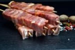 Feierabend Grill-Spieße pikant gewürzt (Gewicht: 6 Feinkost Fleischspieße - 400g)
