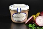 Feinkost Kalbsleberwurst im Glas 200g - mit Naturgewürzen (1 Glas / Versandgewicht ca. 365g: Inhalt ca. 200g)