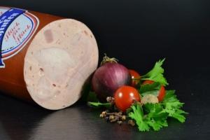 Feinkost Bierschinken vom Schwein - aufgschnitten (Gewicht: 250 g)