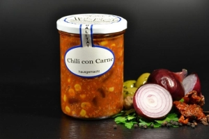 Chili con Carne im Glas 400g (1 Glas / Versandgewicht ca. 650g: Inhalt ca. 400g)