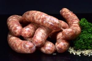 Salsiccia Fenchel Bratwurst - hausgemacht (Gewicht: 5 Salsiccia Fresca Luganega ca.225g)