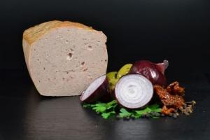 Grober Feinkost Fleischkäse Aufschnitt - hausgemacht (Gewicht: 250 g)