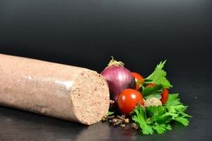 Frankfurter Leberwurst - Hausgemacht - frisch (Gewicht frische Frankfurter Leberwurst: 250g frische Leberwurst)